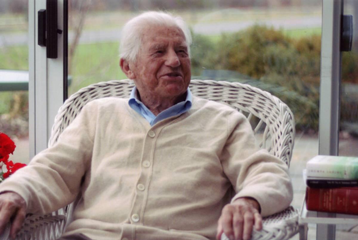 Adam Kirsch Pays a 100th Birthday Visit to M. H. Abrams, the ...